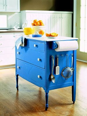 Kitchen Island From Dresser dishfunctional designs: upcycled: awesome kitchen islands made