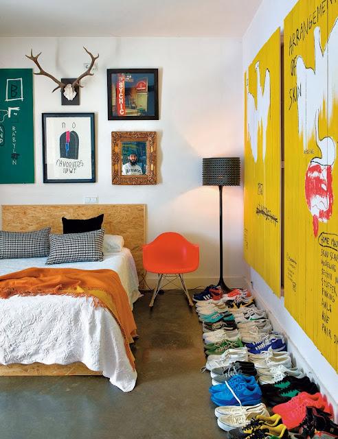 Sypialnia i dodatki z recyklingu