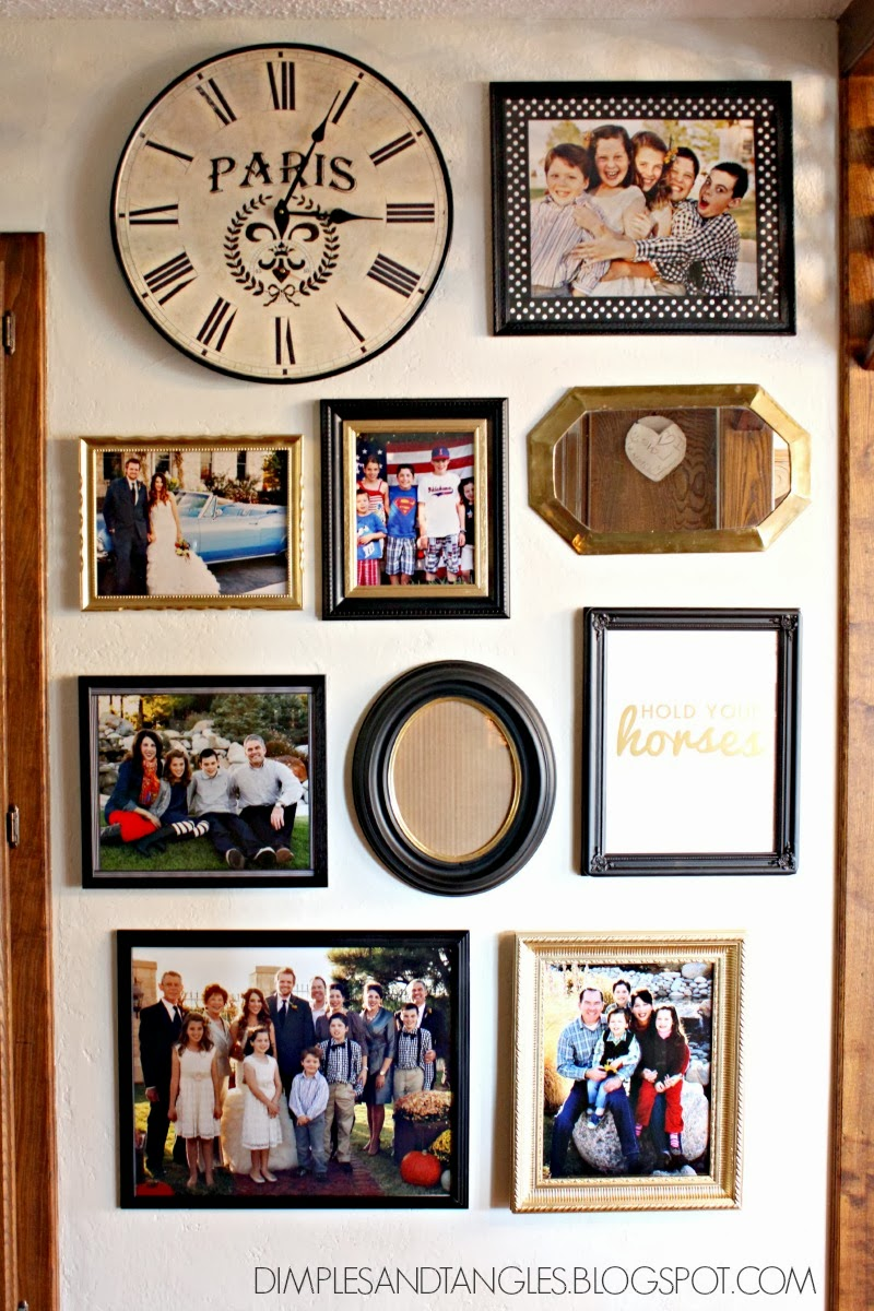 MOM\'S GALLERY WALL AND RIBBON PHOTO MATS - Dimples and Tangles