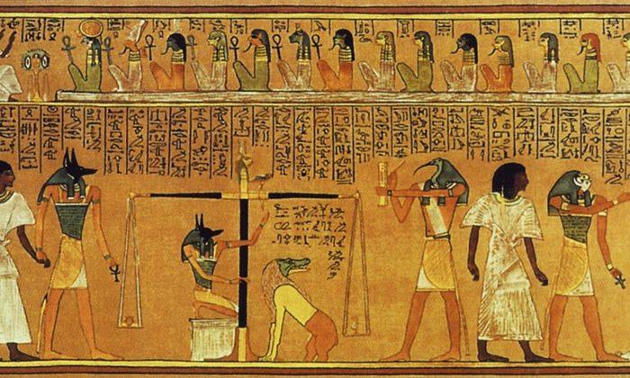 фото жреца египта
