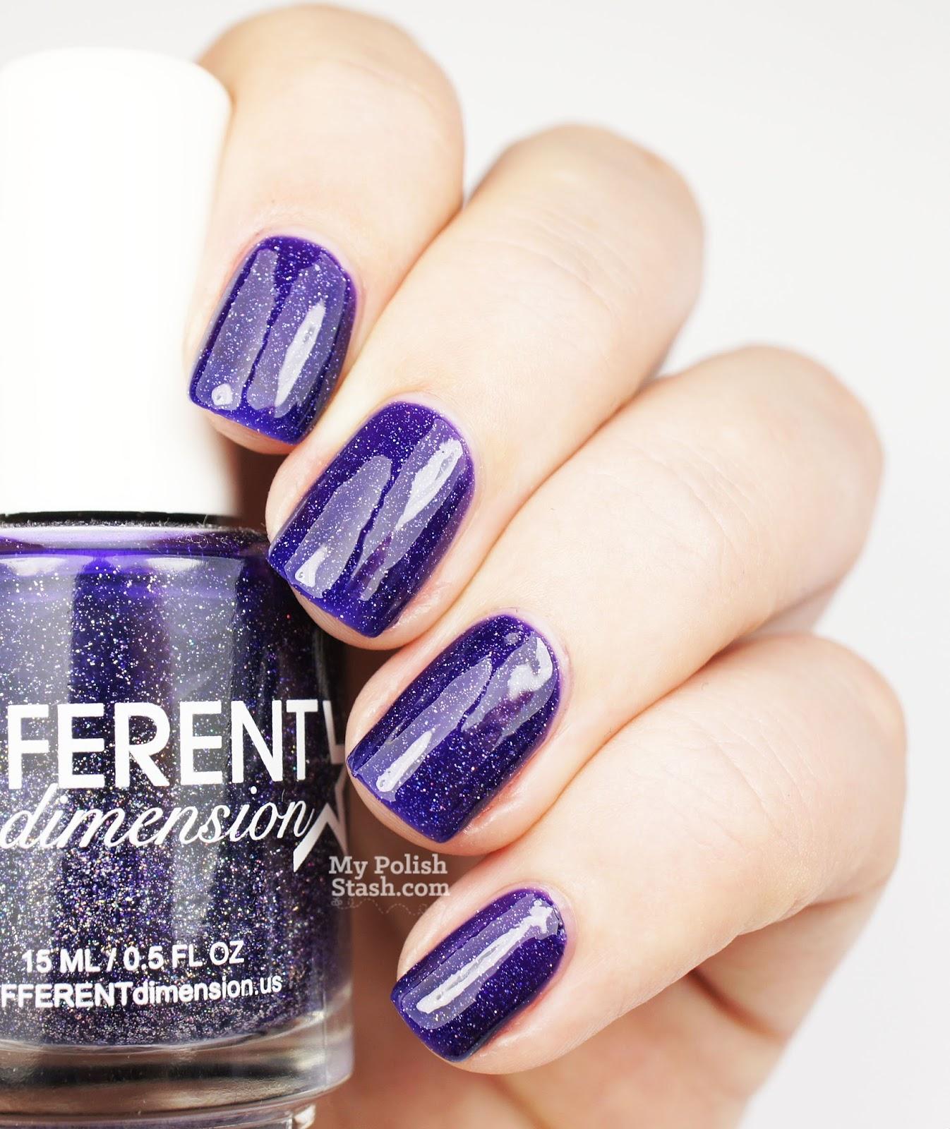 Fall nail polish purple