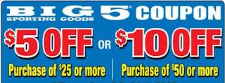 big 5 sporting goods printable coupons