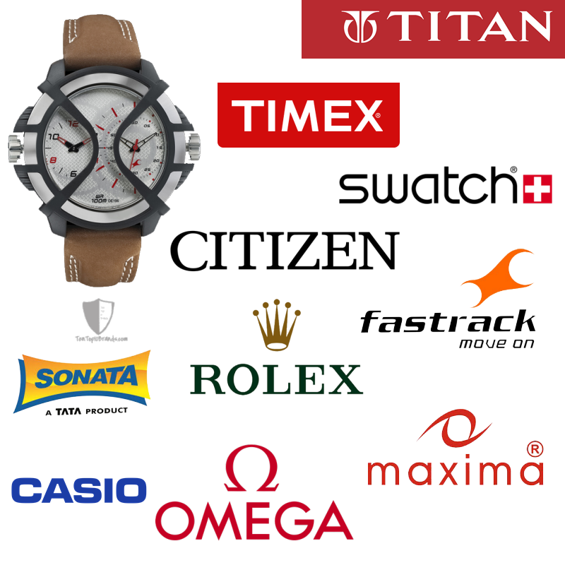 top 10 watch brands best selling India