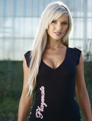 Daniela Wolf, playmate enero de 2007