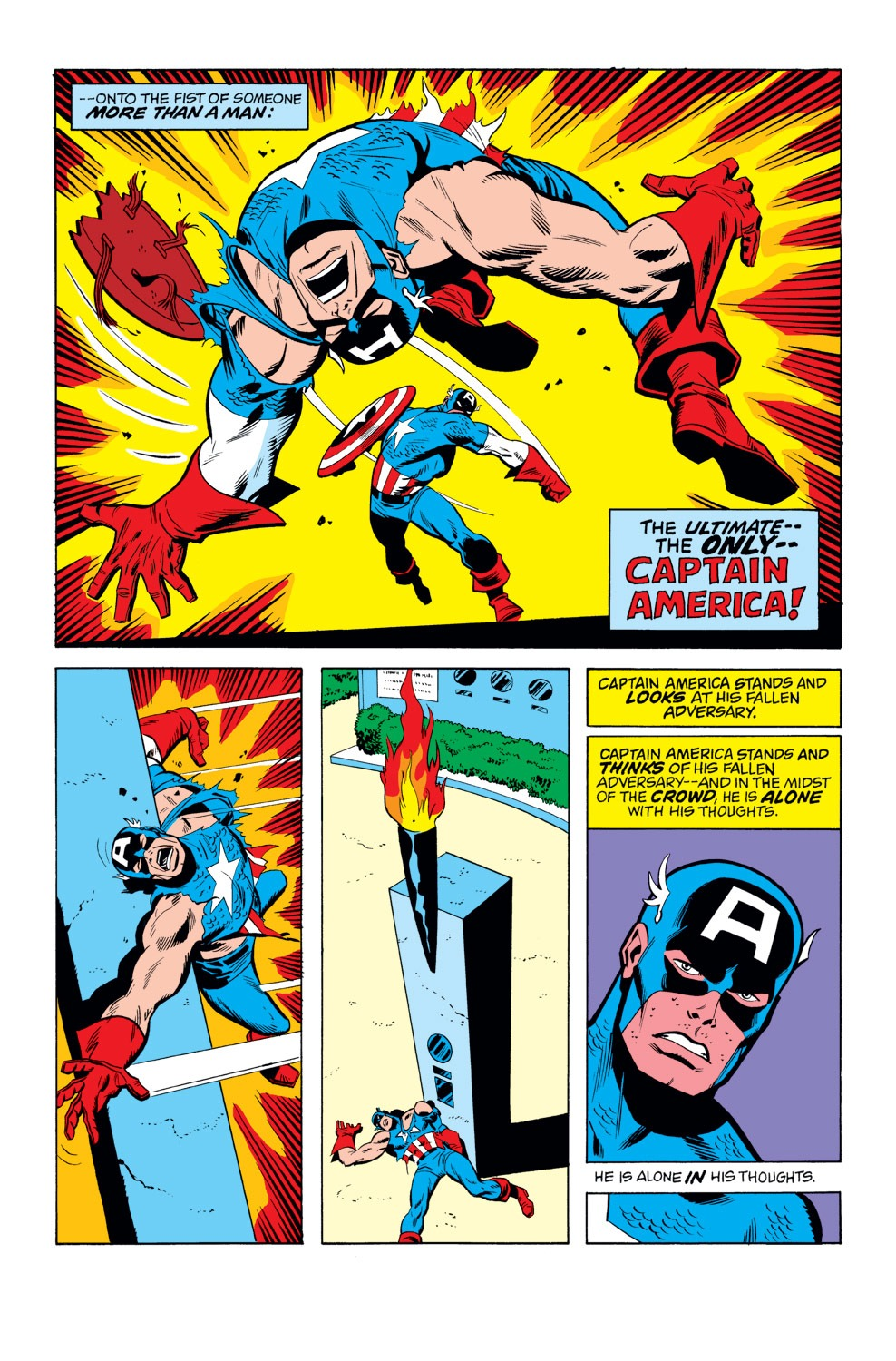 Captain America (1968) Issue #156 #70 - English 20