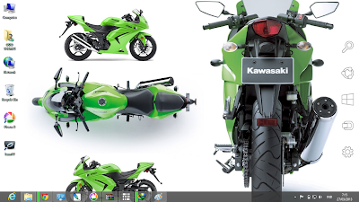 Ninja 250 R Theme