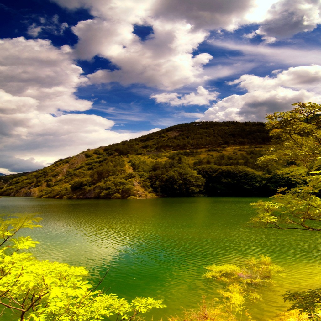 Free Download Ipad Beautiful Lake Jpg