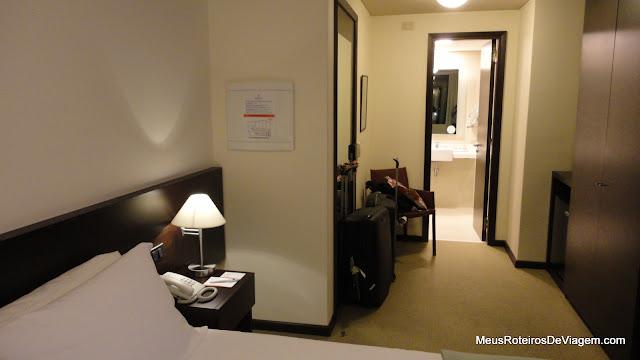 Suíte do Hotel Intercity Premium - Montevidéu, Uruguai