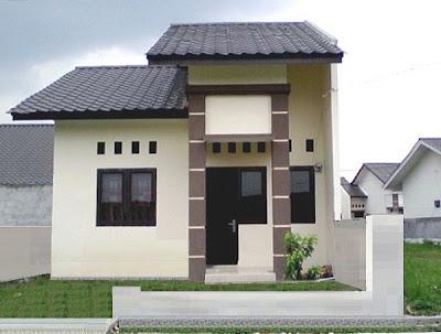 Rumah Minimalis Type 45/166 Halaman Luas