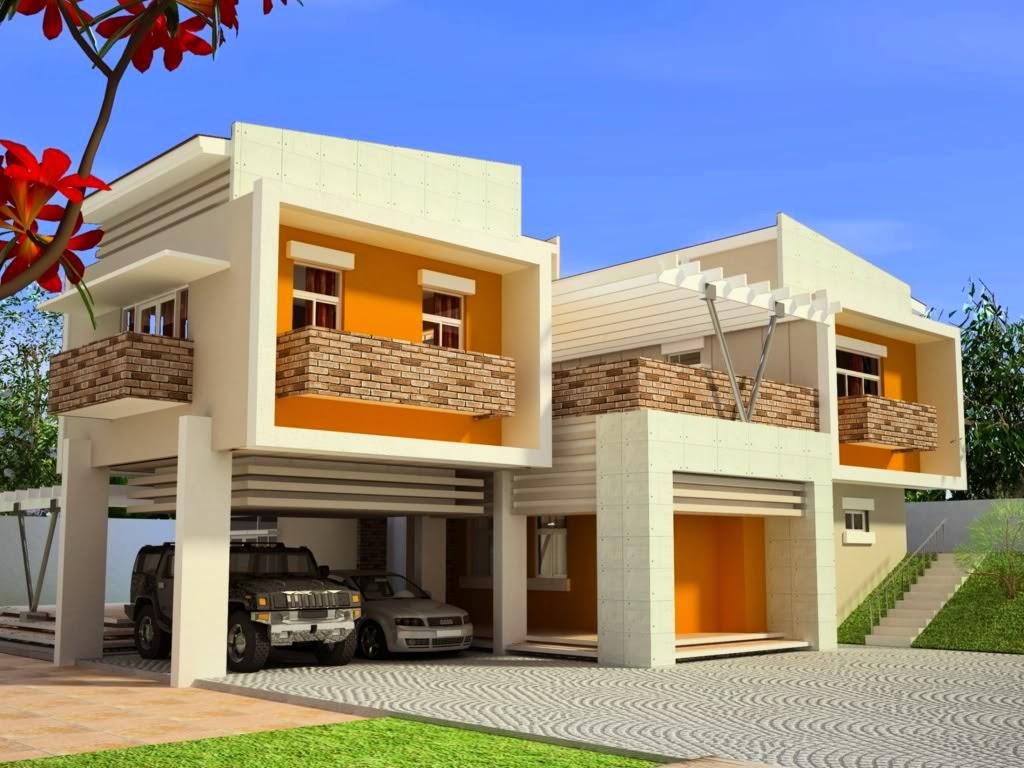 model rumah minimalis modern kumpulan gambar desain