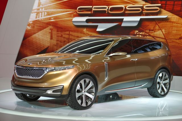 KIA Cross GT Large Crossover  2013