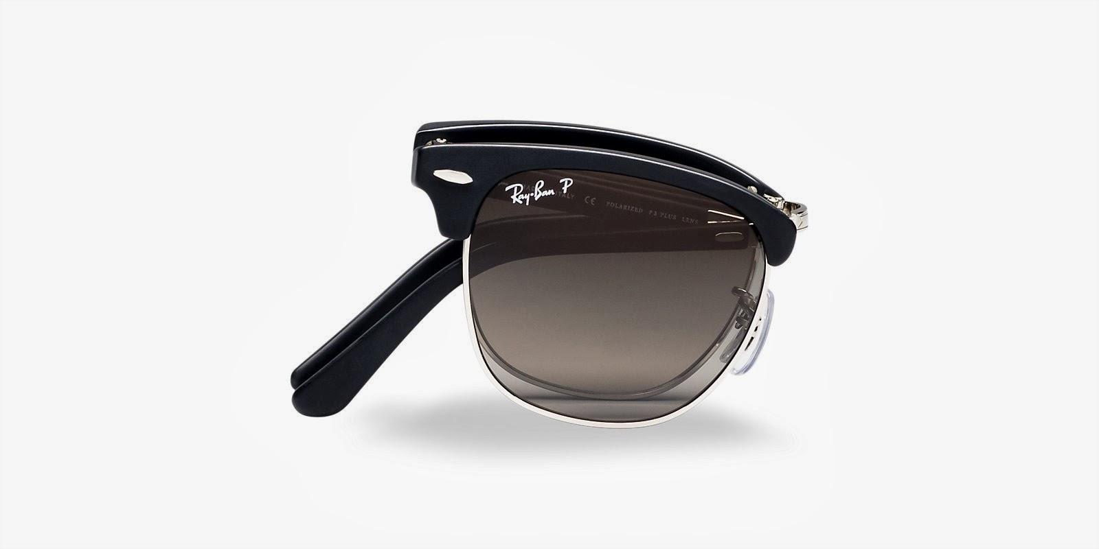 Gafas de sol Rayban Clubmaster: ahora también plegables - Las gafas ...