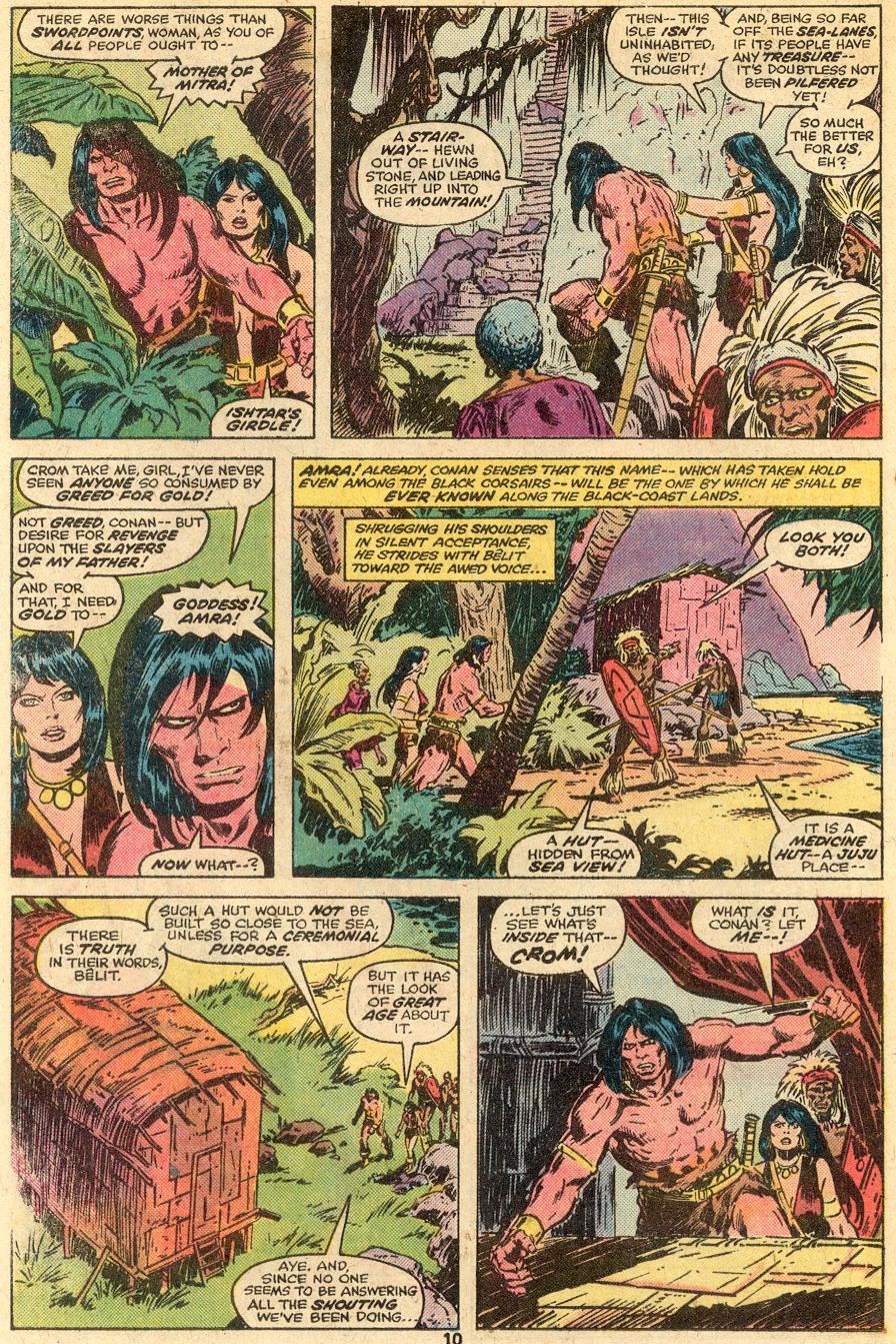 Conan the Barbarian (1970) Issue #65 #77 - English 7