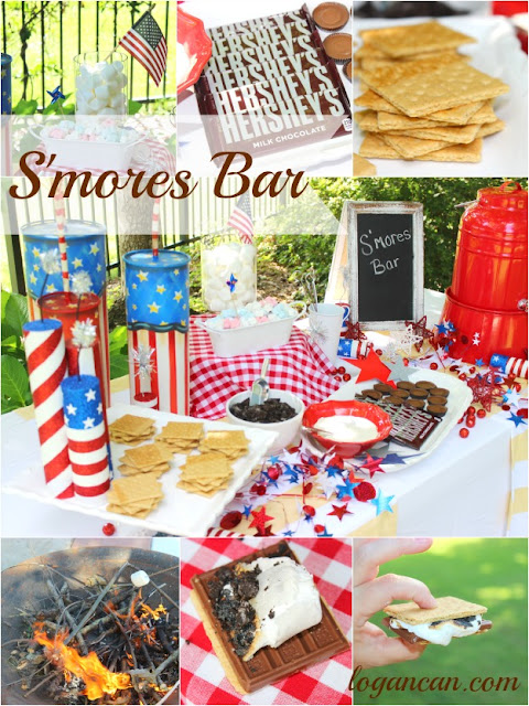 http://www.logancan.com/2015/06/patriotic-smores-bar-caramel-macchiato.html