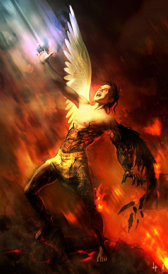 Historia de lucifer el angel caido