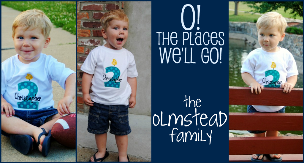 O! The Places We'll Go...