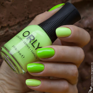 Orly Key Lime Twist + Thrill Seeker