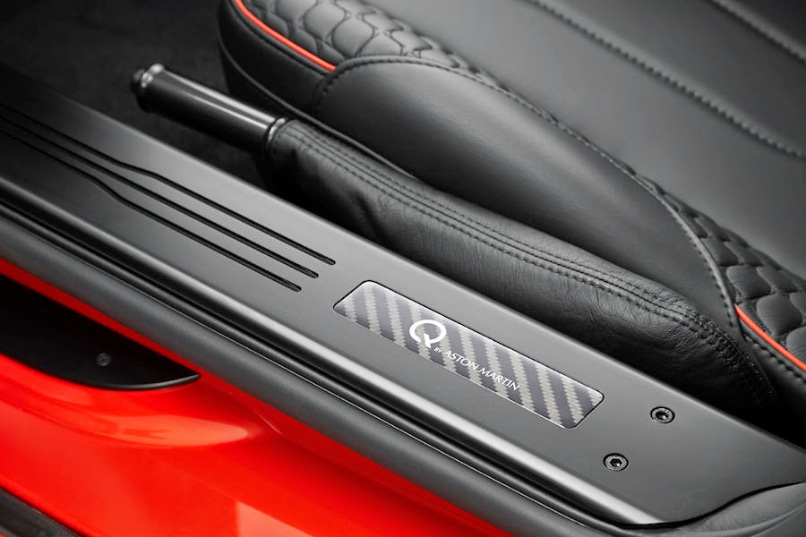 「アストンマーチン・ヴァンキッシュ」のオーダーメイド仕様車