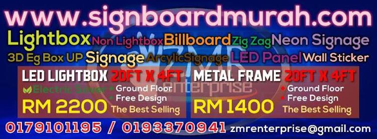 Signboard Murah