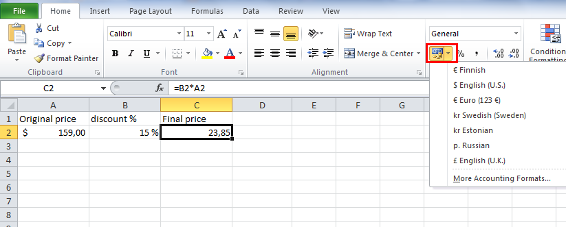 How to calculate percentage in Excel tutorial | The Excel How To