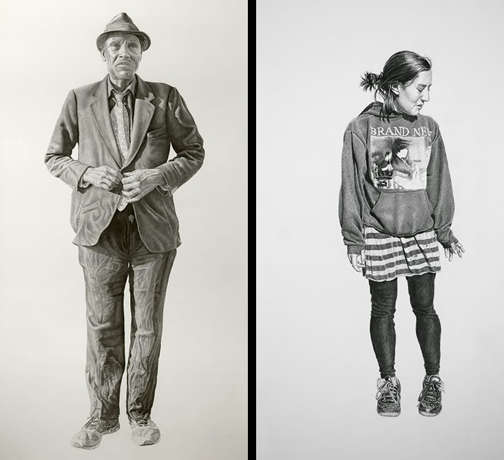04-Kent-and-Laura-Joel-Daniel-Phillips-Drawings-of-forgotten-People-in-front-of-Us-www-designstack-co