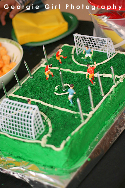 Soccer Theme Cake Decorations