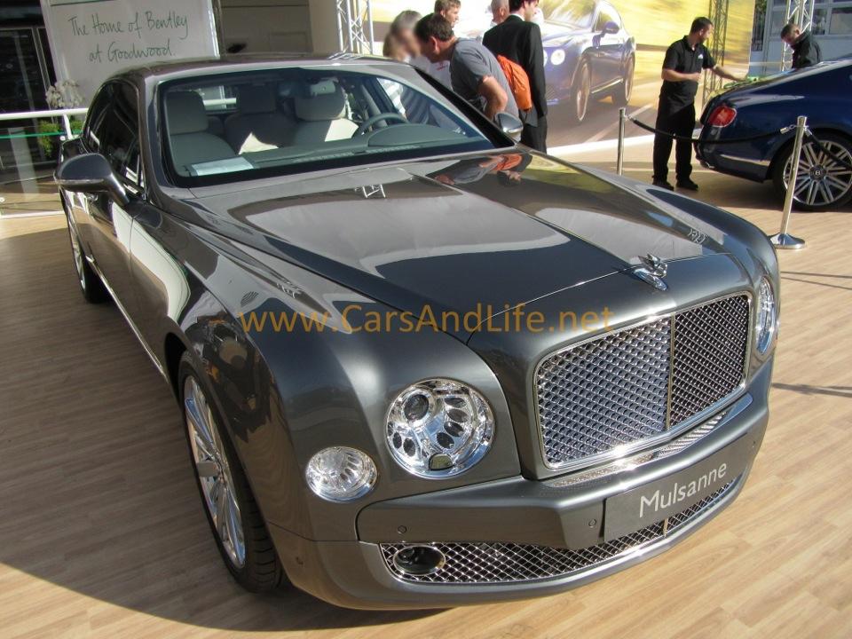 Bentley Mulsanne From Goodwood