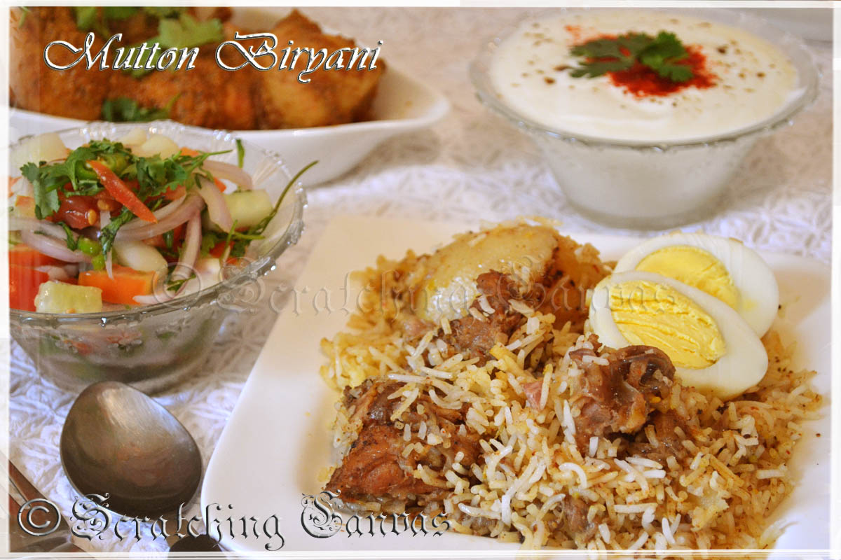 Behance kolkata style mutton biryani recipe forumfinder Gallery