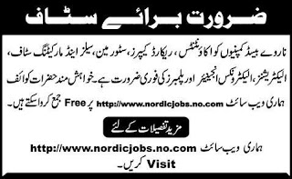 JOBS in PAKISTAN