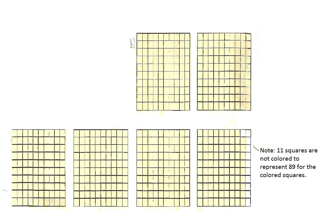 Hundredths grid printable
