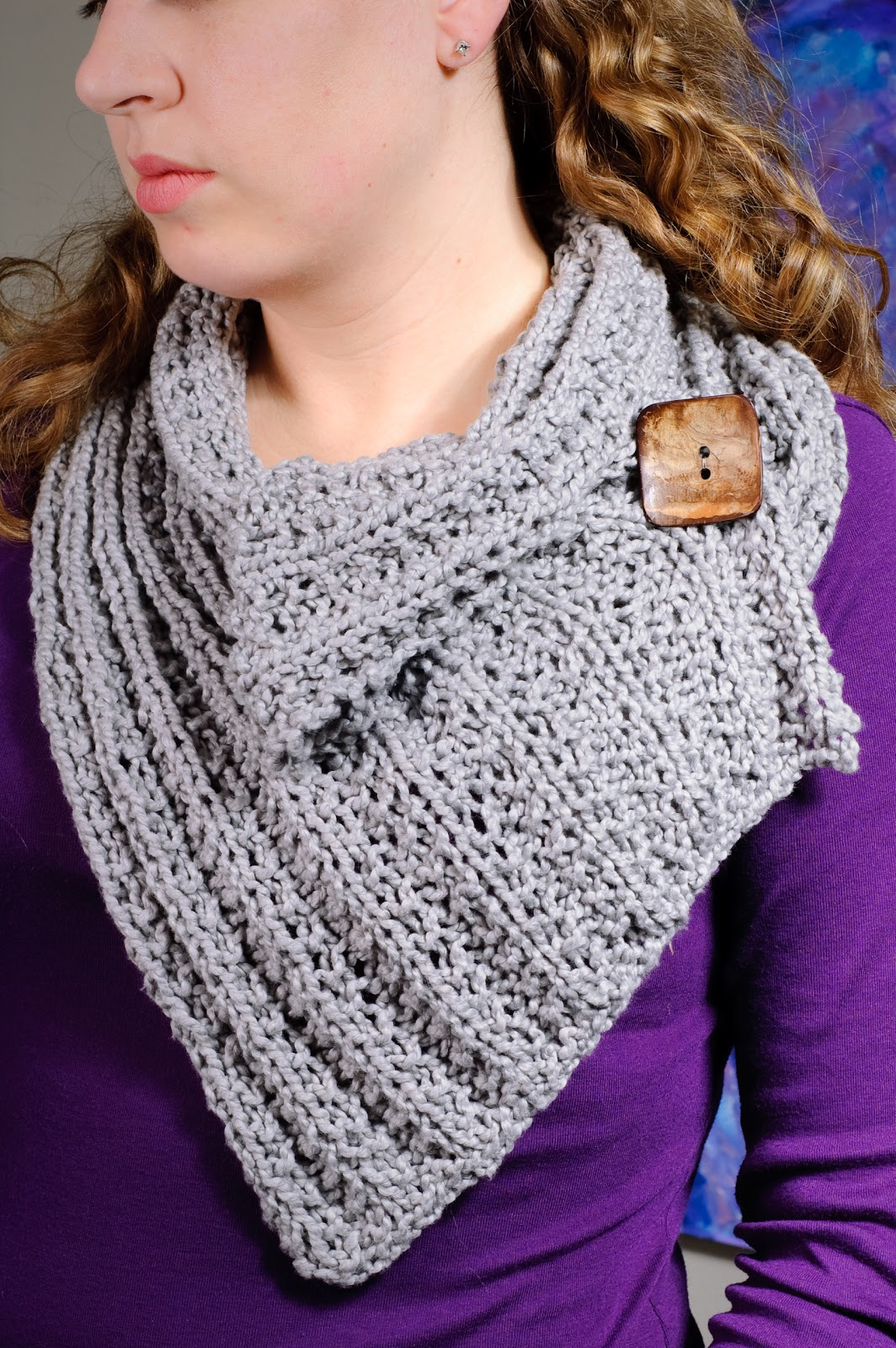 Free Knit Cowl Pattern : Lilybug Designs: Knitted Cowl