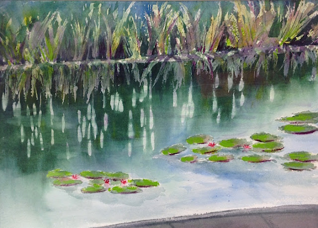 concord art association lily pads