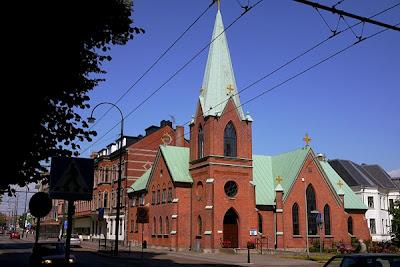Johannes Döparens katolska kyrka, katolska kyrkan, Landskrona