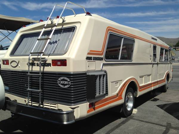 Used rvs vintage rare fmc 2900r motorhome for sale by owner for Motor homes for sale in maine