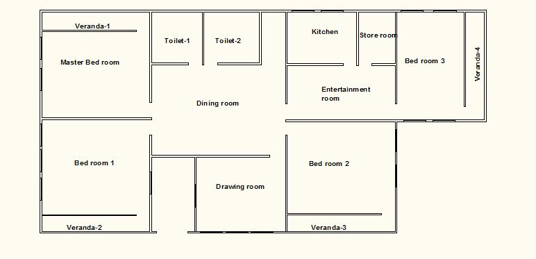 Apartment Floor Plan Cad File