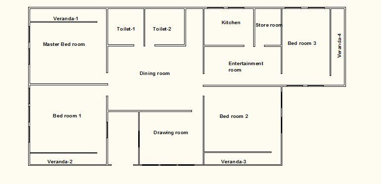 Apartment Floor Plan Cad File