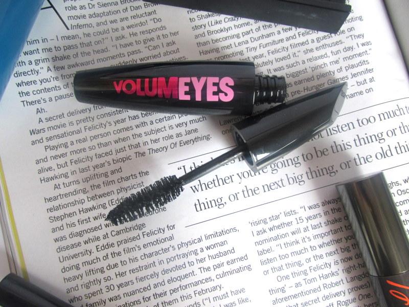 model co volumeyes mascara review