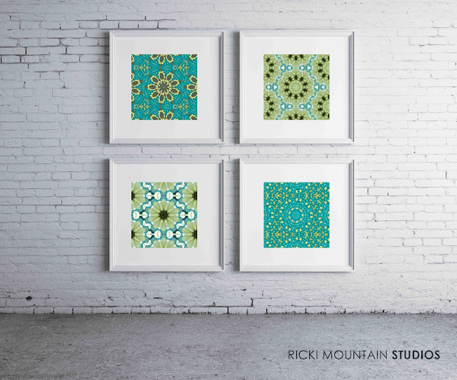 Art By ricki mountain -Pattern-textile- framed art prints
