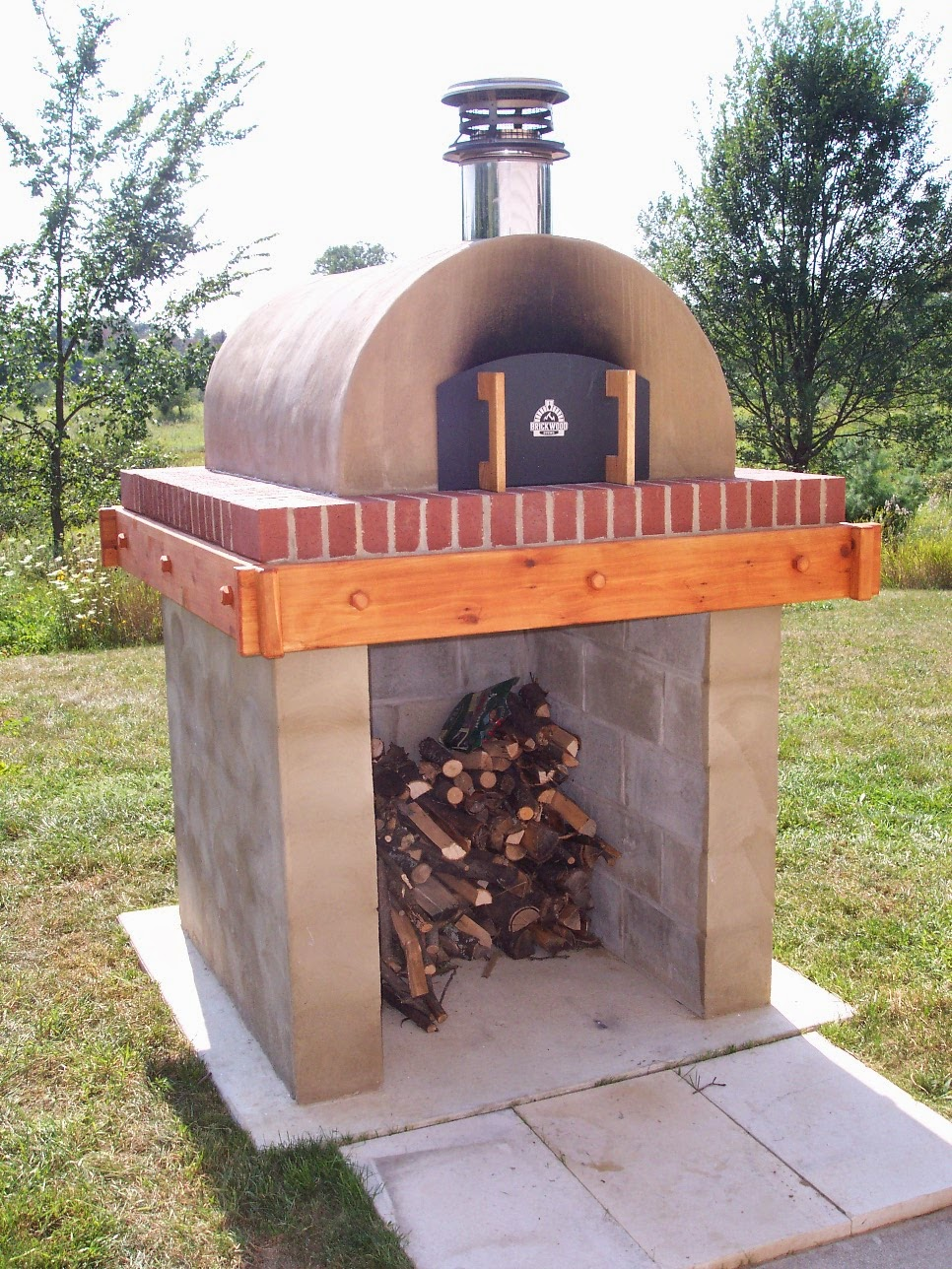 kovalu0027s cortile barile wood fired pizza oven in michigan