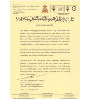 Sultan Selangor nikah Norashikin Abdul Rahman