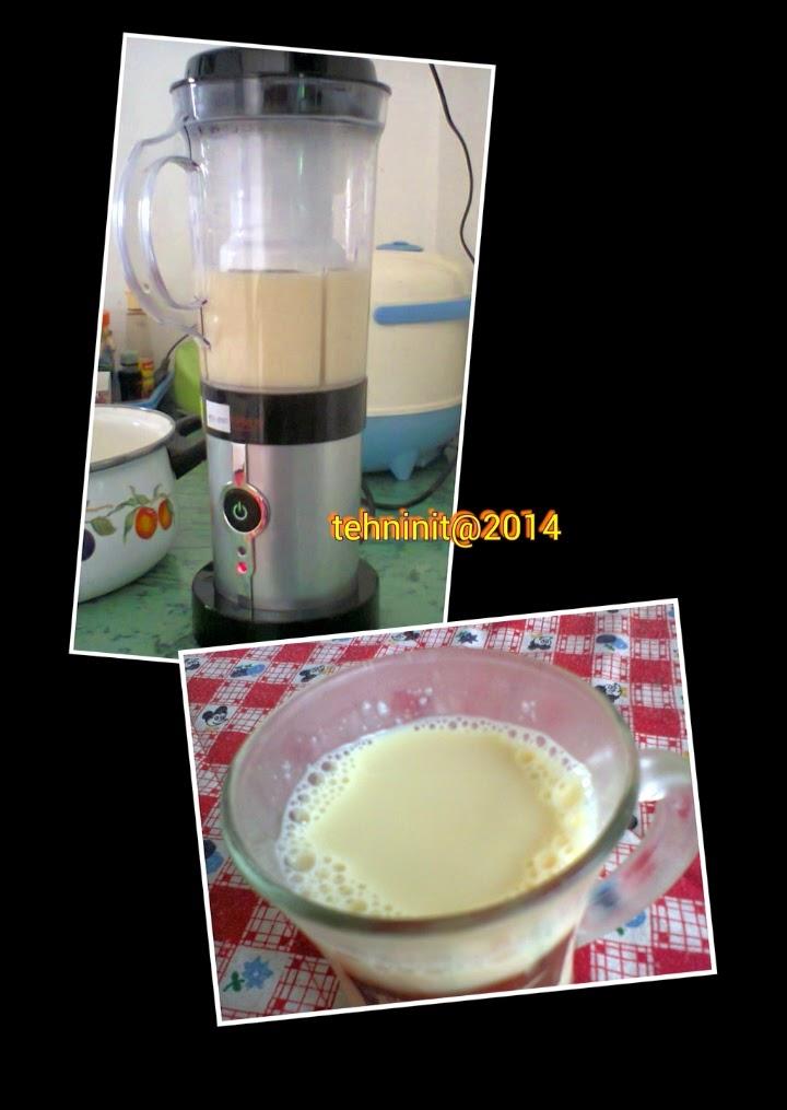 Prosen pembuatan susu kedelai