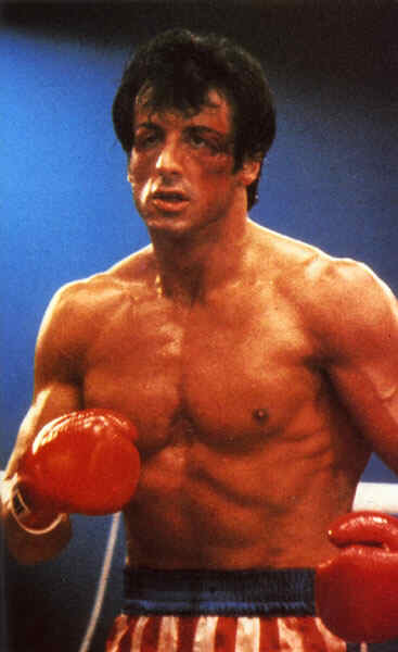Sylvester Stallone wanting to give the audience as real as a fight as he can ...