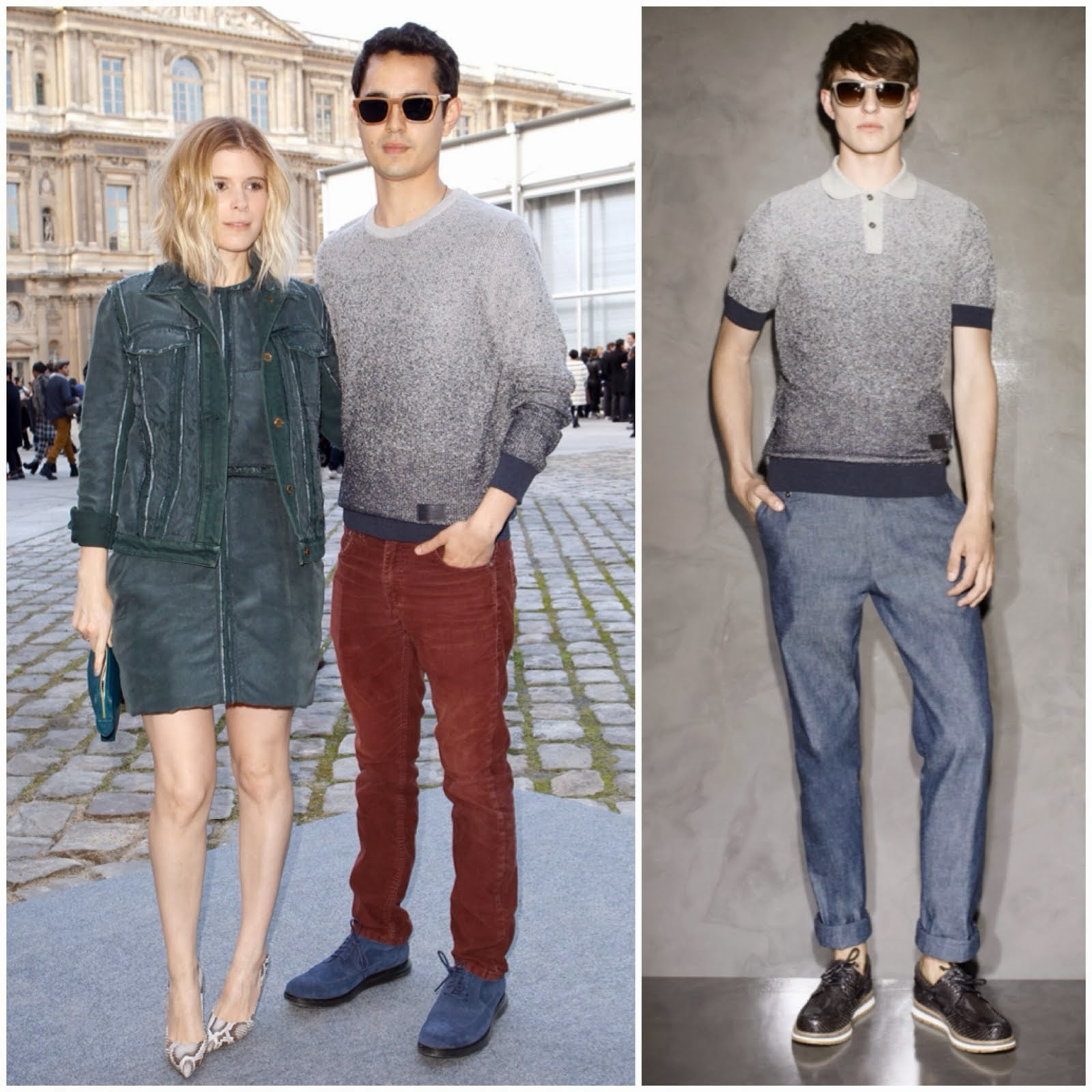 Max Minghella in Louis Vuitton - Paris Fashion Week FW14
