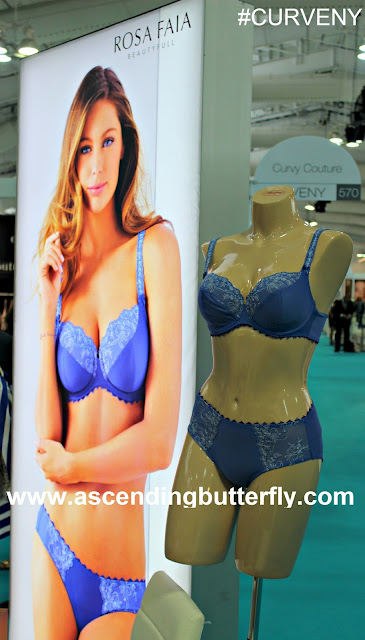 Rosa Faia, Bra and Panty Set, Lace Bra & Panty Set, MODE LINGERIE AND SWIM CURVEXPO 2015