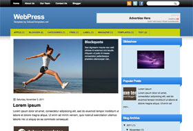 WebPress Blogger Template