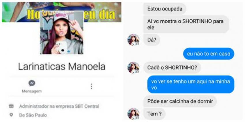 Pedófilo cria fã-clube falso de Larissa Manoela para enganar crianças
