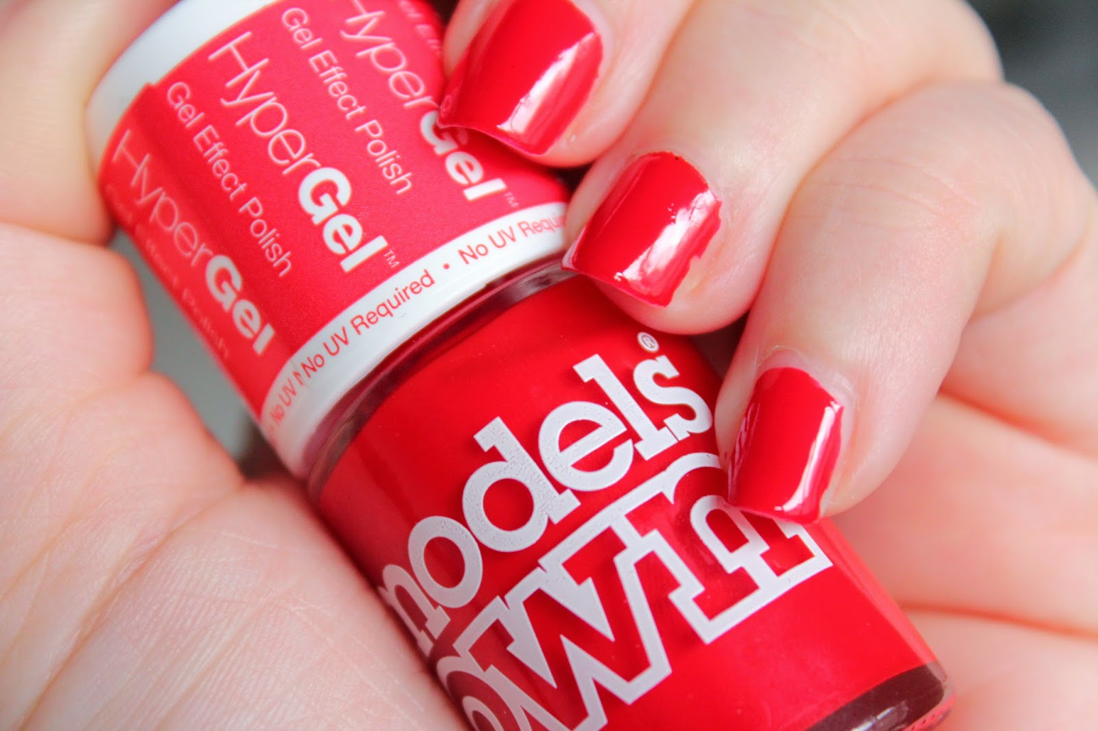 NOTD - Models Own Hypergel Red Lustre