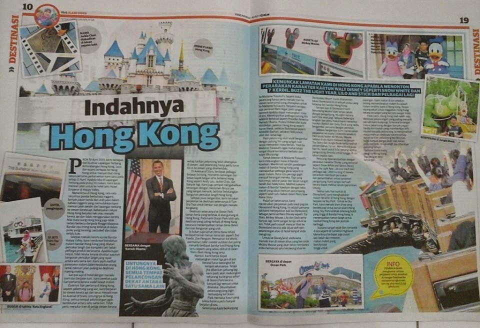 Mingguan Malaysia, 12 Okt 2014