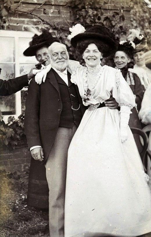 Lachende Victorianen