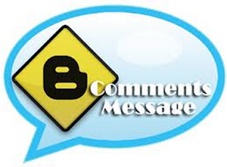 Show Comment Message Before Blogger Comment Box